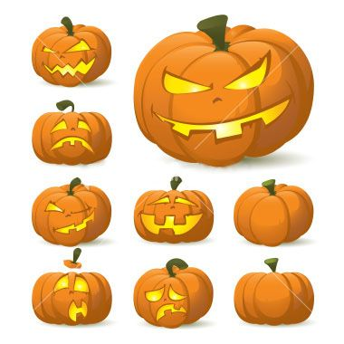 Pick a pattern for your own Halloween Jack O' Lantern @ Leawo Official Blog