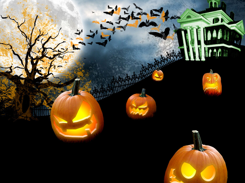 Halloween desktop wallpaper 2