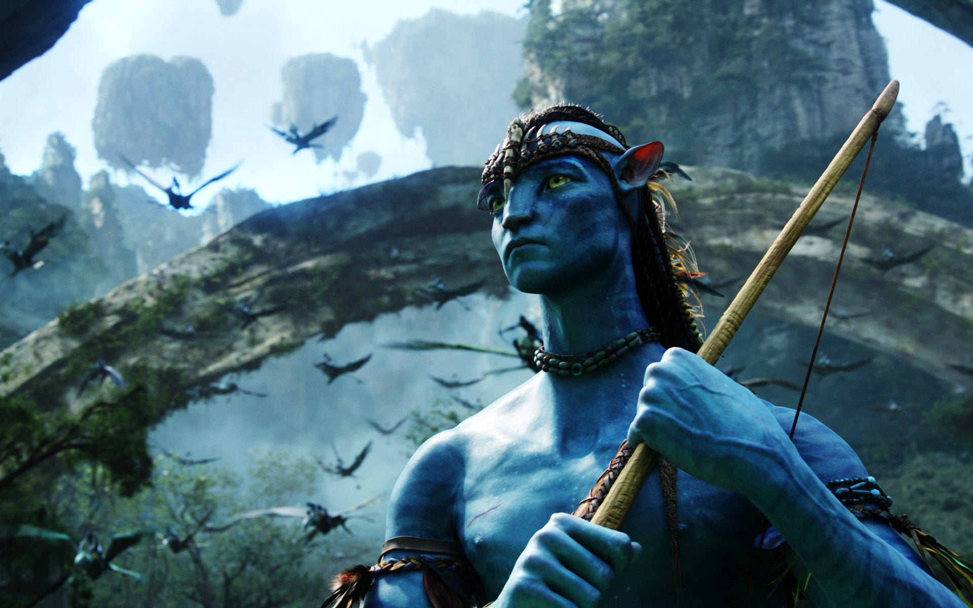 Amazing hd wallpapers of the 3d epic movie avatar