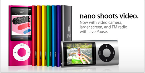 Apple iPod Nano G5 Christmas sale