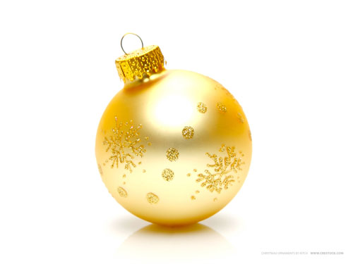 Wallpaper-christmas-ornament-gold in Beautiful Christmas Pictures and Creative Christmas Designs