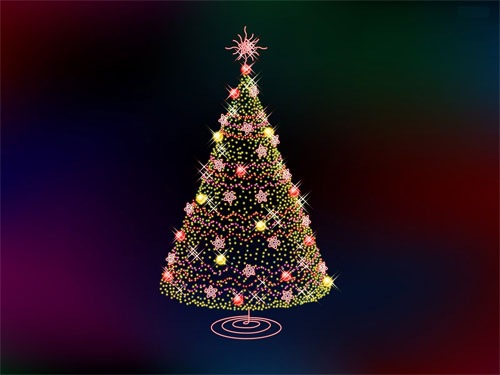 Wallpaper-christmas-tree-3 in Beautiful Christmas Pictures and Creative Christmas Designs