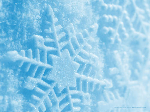 Wallpaper-winter-christmas-snowflakes in Beautiful Christmas Pictures and Creative Christmas Designs