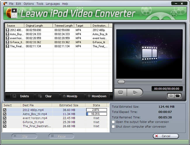 Leawo iPod Video Converter
