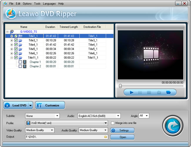 How to Burn XviD to DVD with XviD to DVD Converter