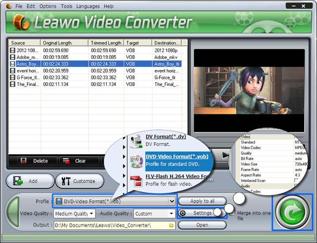 leawo video converter