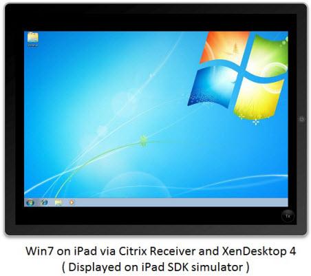 run windows 7 on ipad