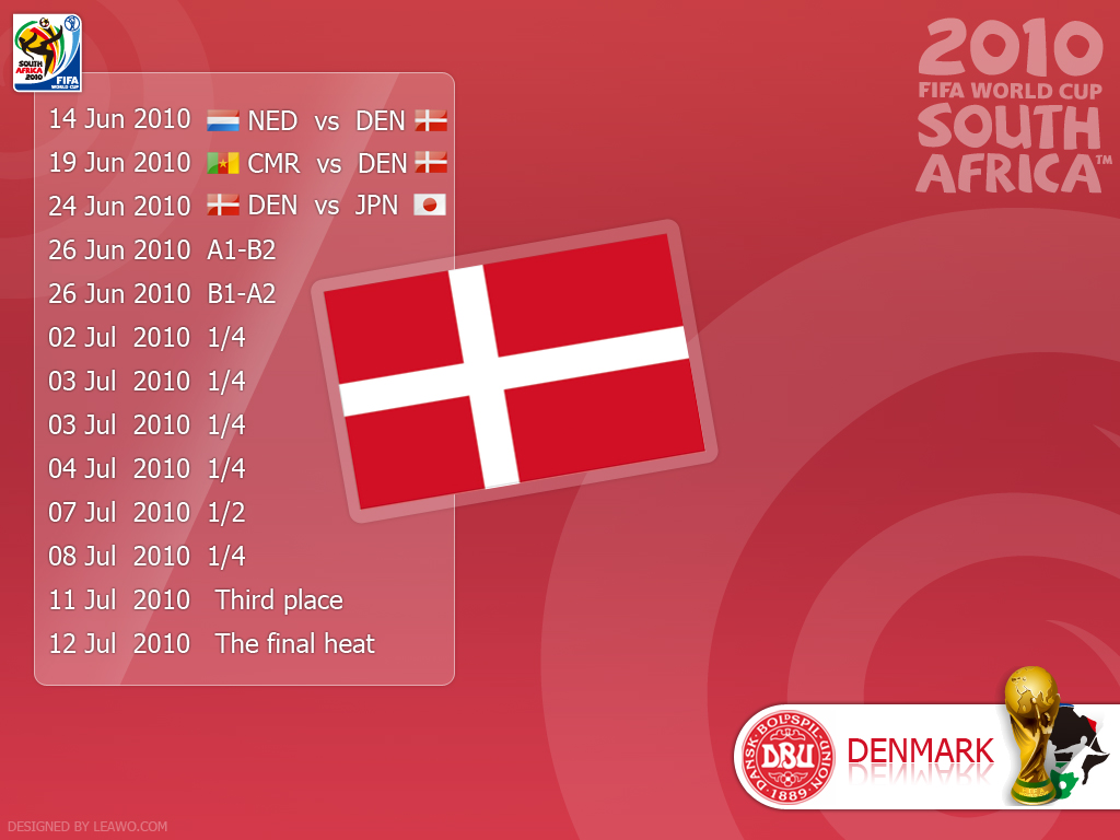 World Cup 2010 Schedule and Scoresheet  Excel Templates