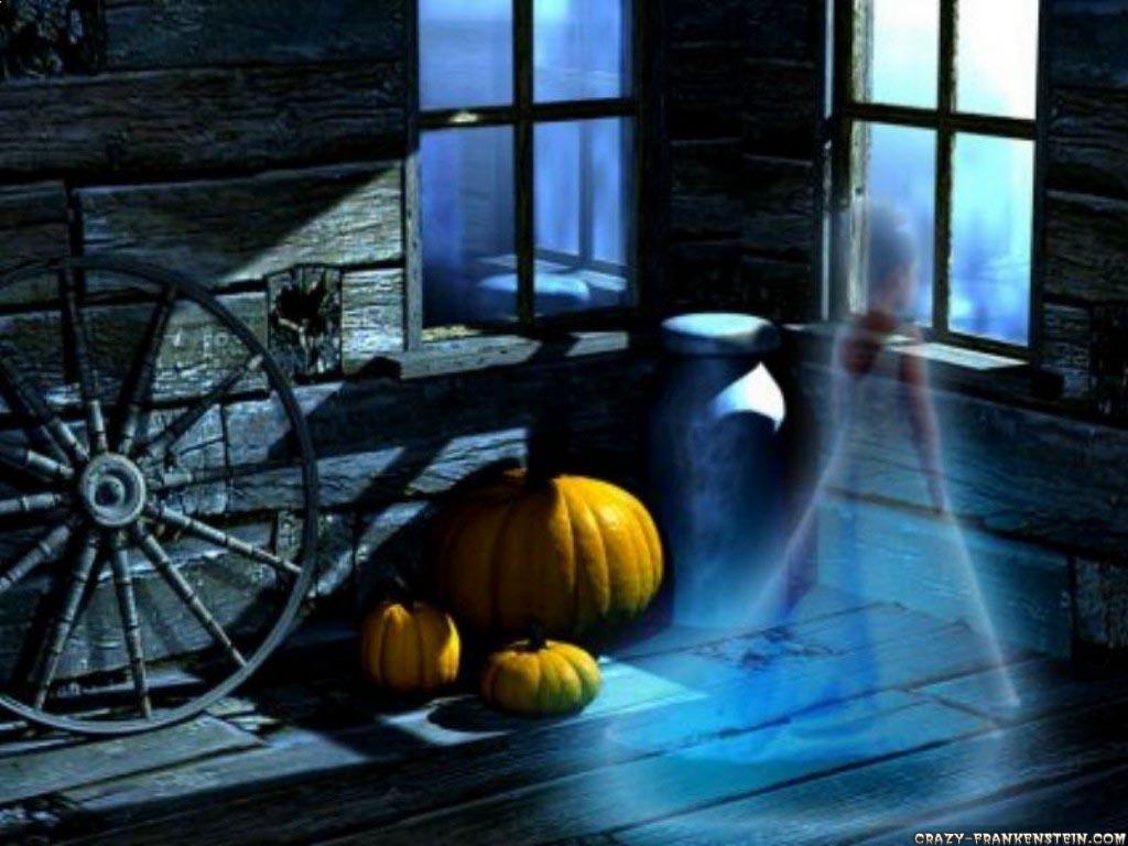 halloween fond écran