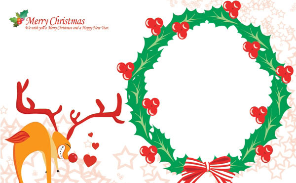 Christmas Card Templates Free Download Christmas Card Template Five