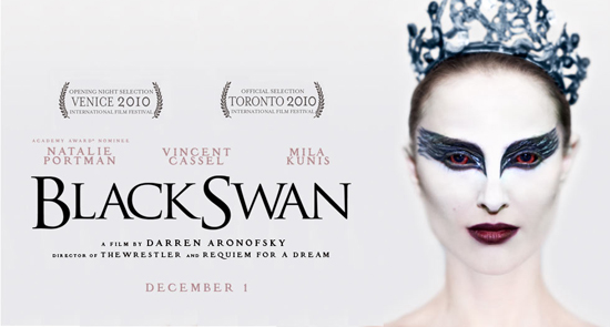 the black swan pictures.  Darren Aronofsky's Black Swan for Blu-ray release on March 29,