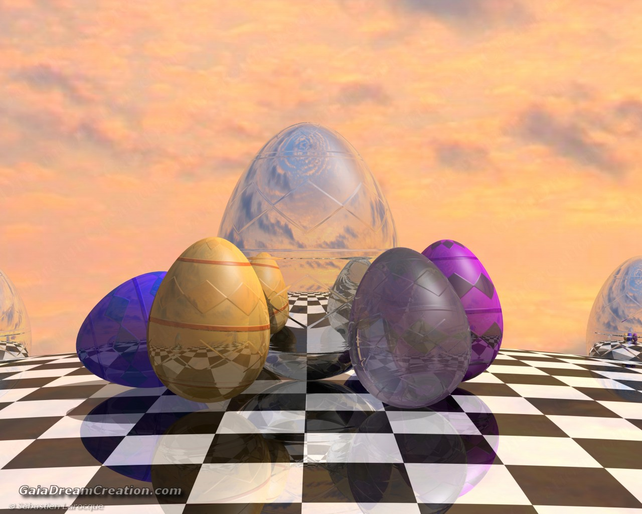 Virtual Easter Eggs