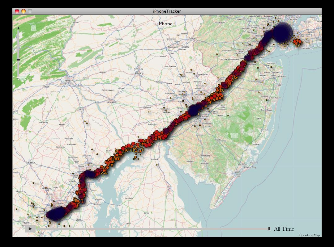 Apple Location Tracking