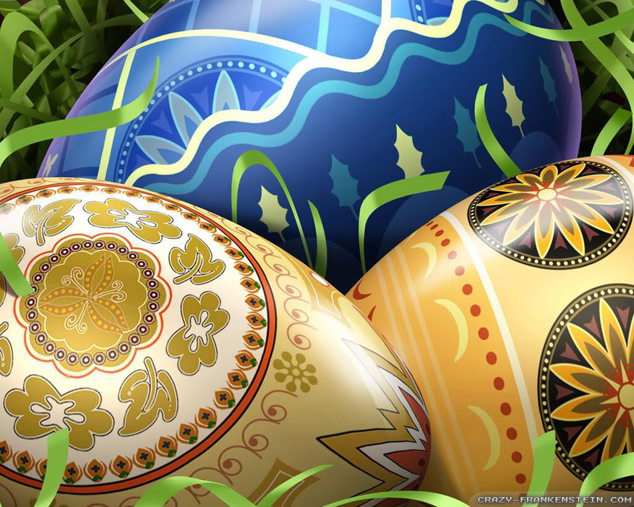 Design Easter Eggs wallpaper