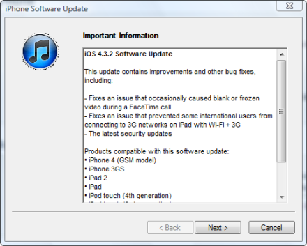 Apple updates iOS 4 3 2, Safari 5 0 5 and Xcode 4 0 2 for