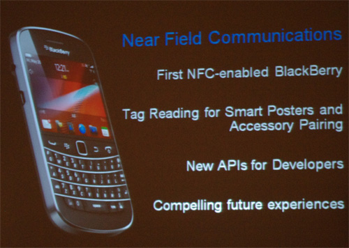BlackBerry Bold 9900/9930 features