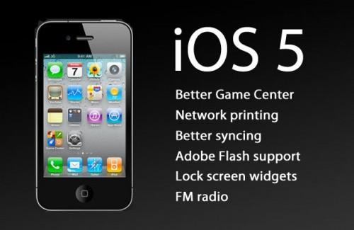 Apple iOS 5 features