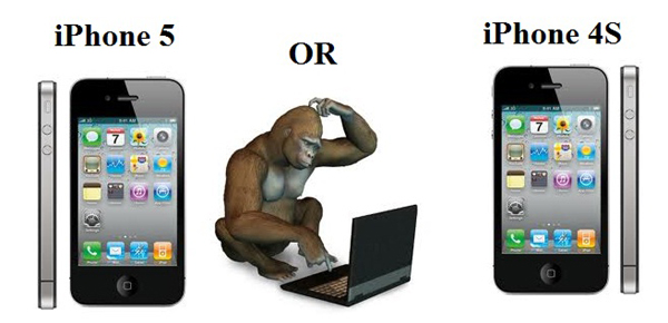 iPhone 4S or iPhone 5