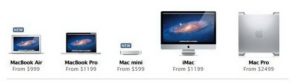 MacBook Air and Mac Mini