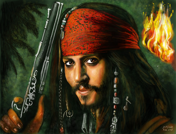 Pirates of the Caribbean 5 - Johnny Depp