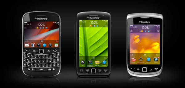 RIM BlackBerry 7 smartphones
