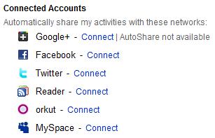 Collegare YouTube Google+