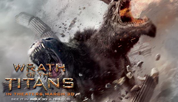 Wrath of the Titans poster 1