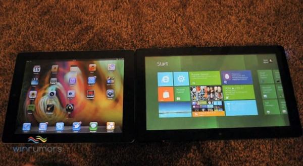 Windows 8 Tablet vs. iPad 2