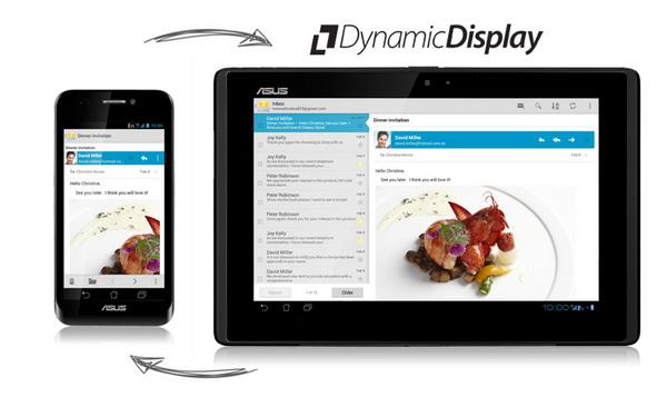 ASUS Padfone Dynamic switch