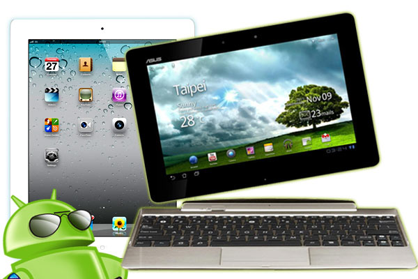 ASUS Transformer Prime vs. iPad 3