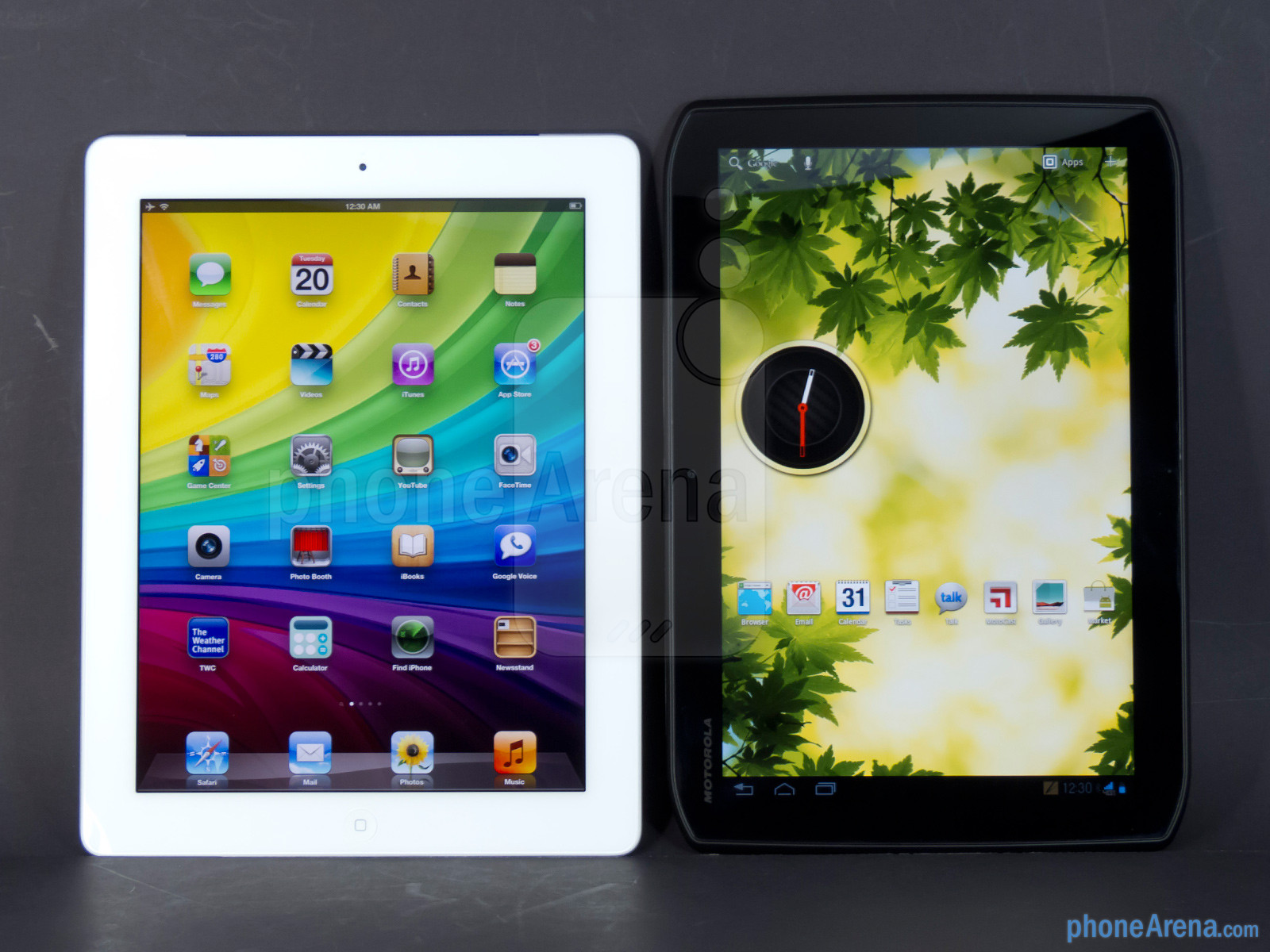 Apple iPad 3 vs. Motorola Droid Xyboard 10.1