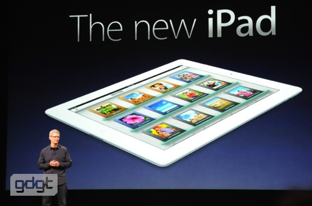 Apple new iPad
