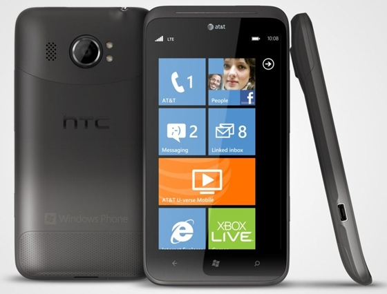 HTC Titan, a Giant of 4.7 Inch Windows Phone Handle