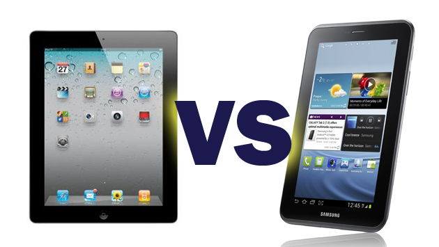 Samsung Galaxy Tab 10.1 vs. Apple iPad 3