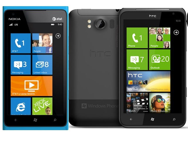 Nokia Lumia 900 vs. HTC Titan ll