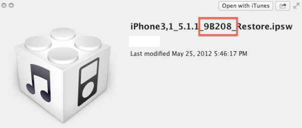 iOS 5.1.1 new build
