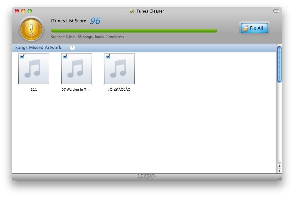 Mac iTunes Cleaner