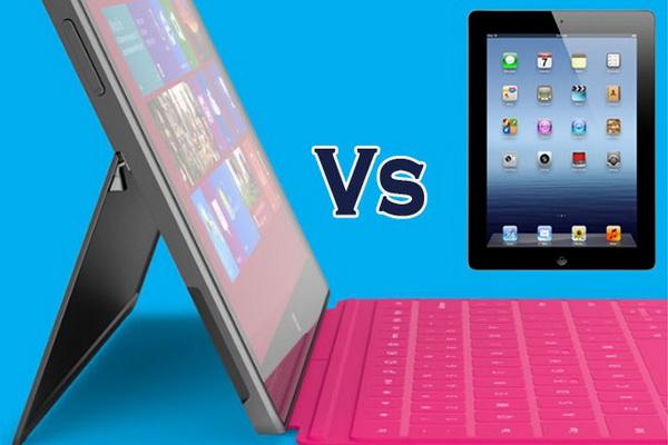 Microsoft Surface VS new ipad