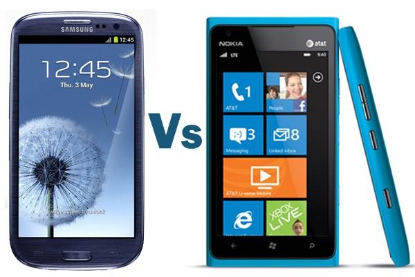 Samsung Galaxy S III vs. Nokia Lumia 900