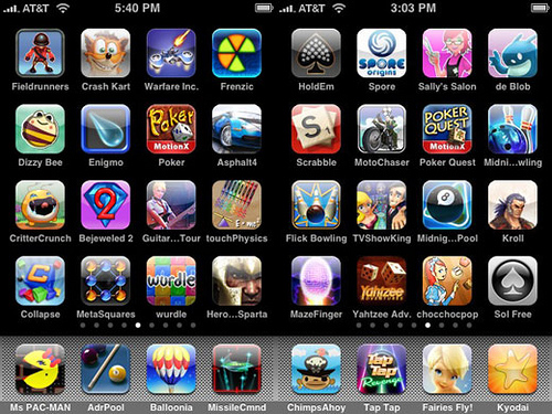cool game apps for iphone