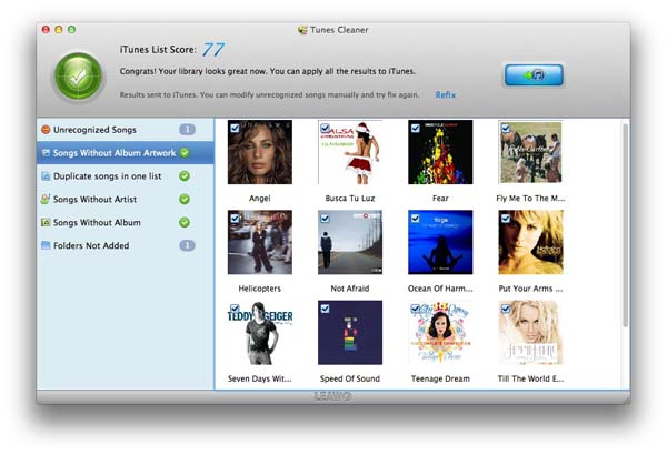 Mac iTunes Cleaner app