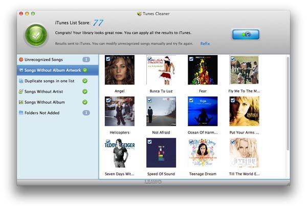 Mac iTunes Cleaner app