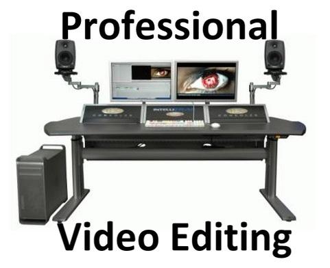 professional video editing