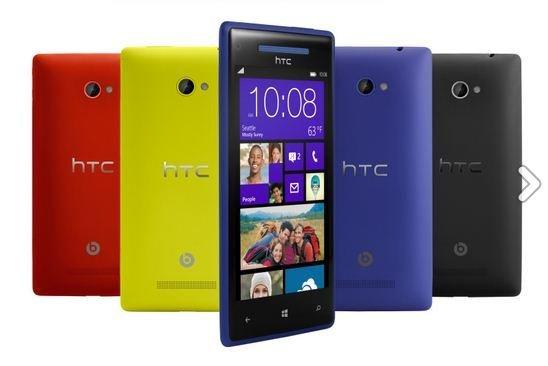 HTC 8X 4G LTE