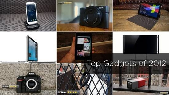 Top 10 Gadgets of 2012