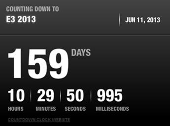 E3 Xbox 720 countdown