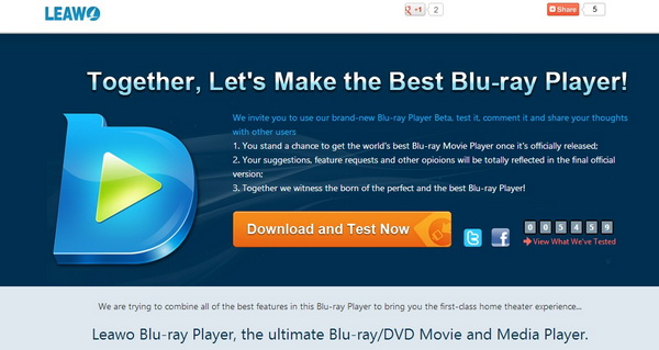 Blu-ray player beta