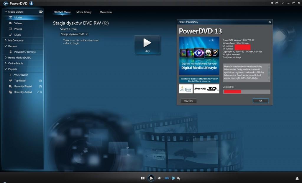Скачать cyberlink powerdvd 12 mlrus ключ: Cyberlink powerdvd 13 crack.