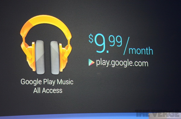 Google Play Music Service