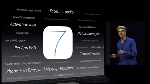 Apple WWDC 2013 iOS 7